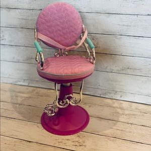 "Our Generation Hair Salon Chair for 18"" Dolls"